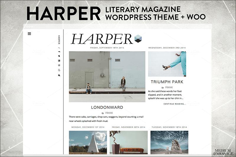 Magazine & Literary WordPress