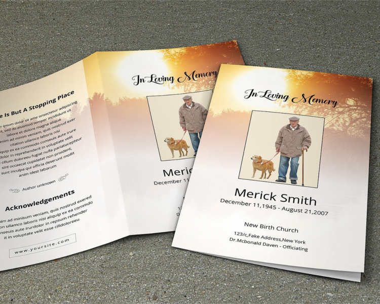 merick-smith-funeral-brochure-templates