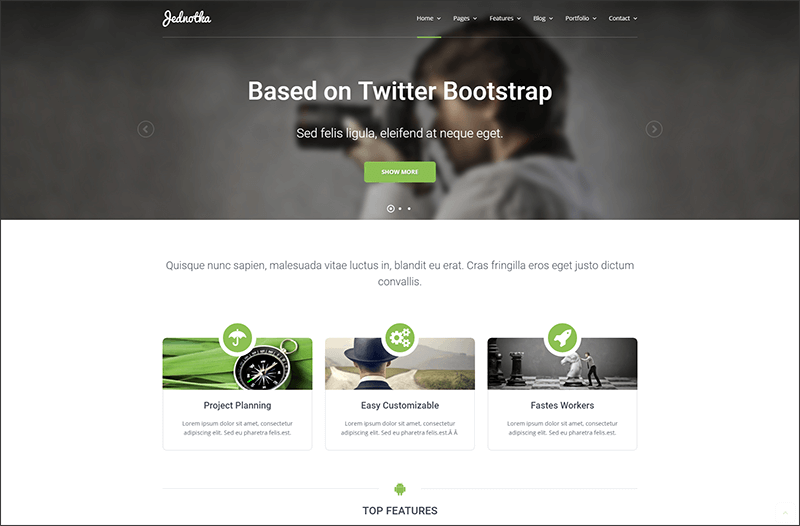 Multipurpose Personal WordPress Theme