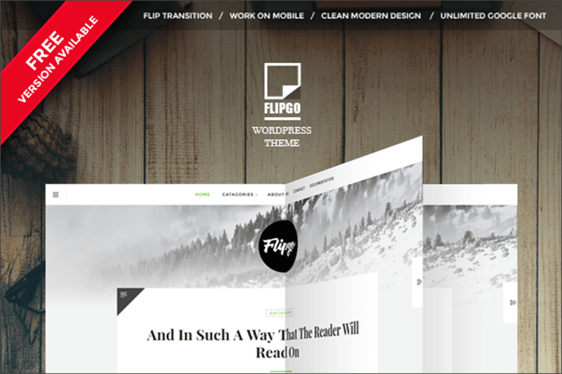 New Book Magazine WordPress Theme