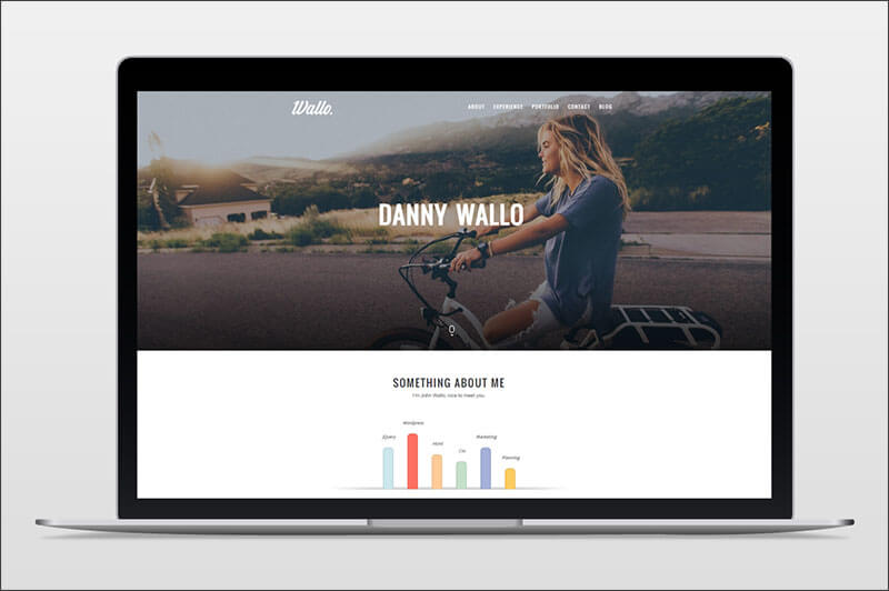 Personal Onepage WordPress Theme