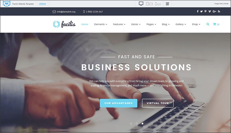 Premium Website Template