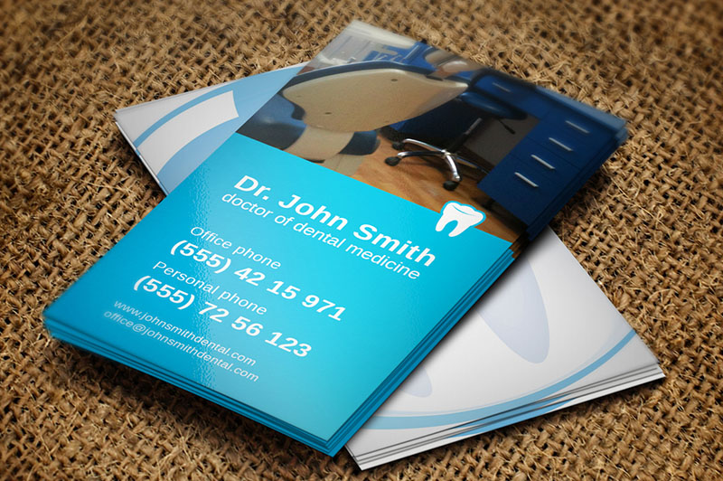 Dental Hospital Business Card Template