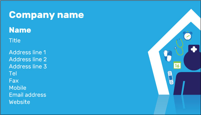 Free Printable Hospital Business Card Template
