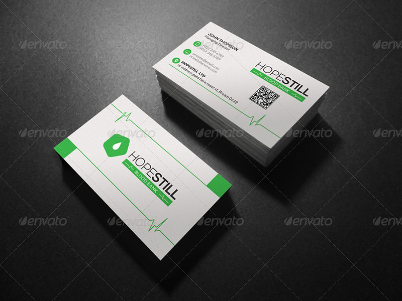 Hospital Business Card Design