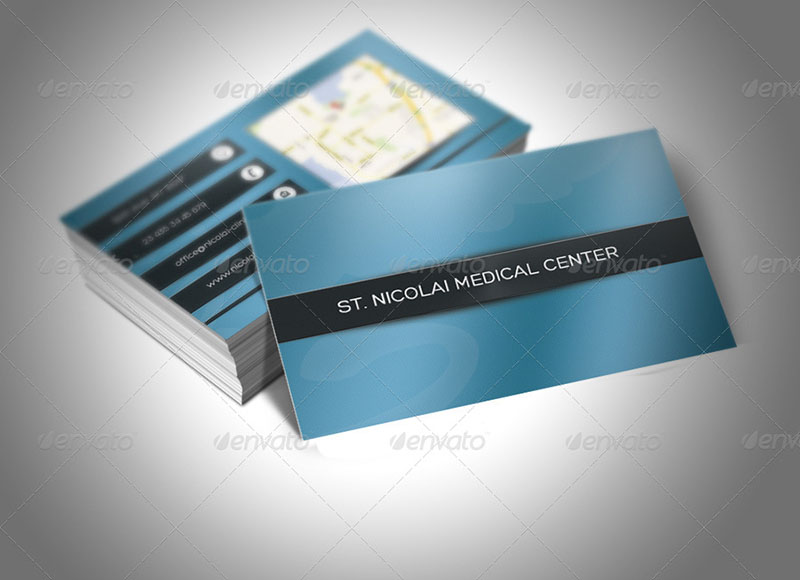 Hospital Business Card Templates  Free  Premium  Creative Template