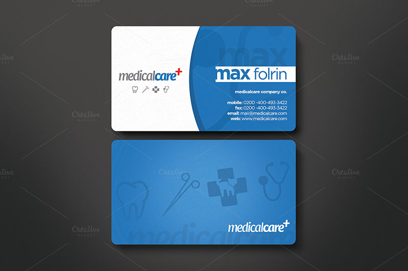 Hospital Business Card Templates Free Premium – Medical Business Card Templates