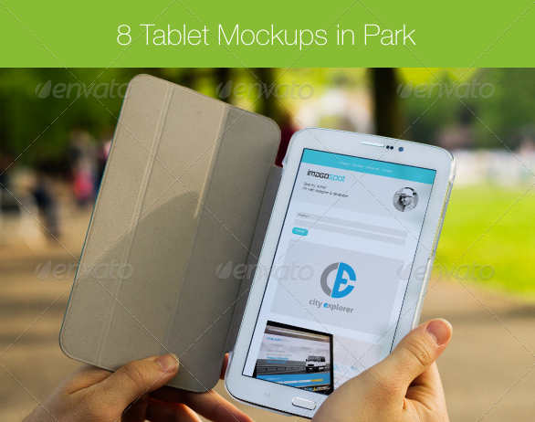 8-white-galaxy-tablet-mockups-in-green-park