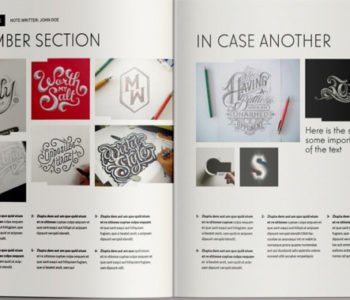 Magazine Brochure Templates