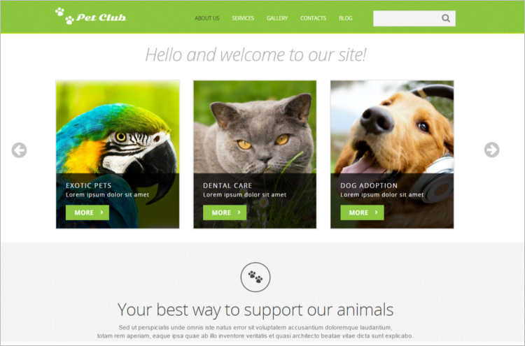 animal-responsive-joomla-template