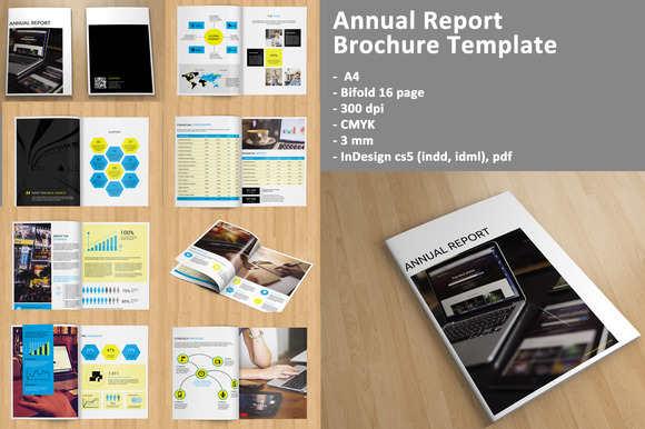 annual-report-bi-fold-brochure-template