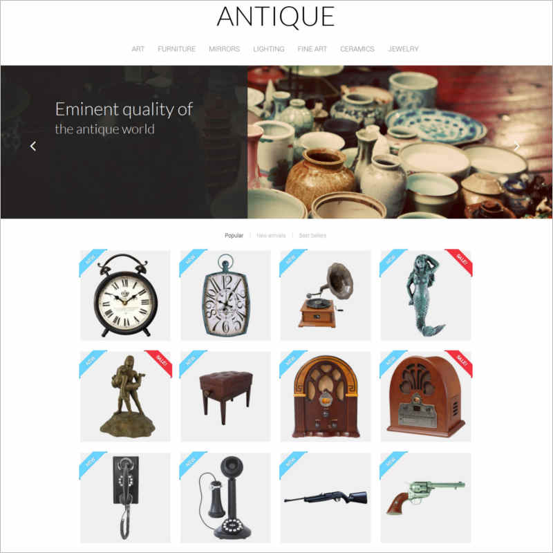 antique-prestashop-theme