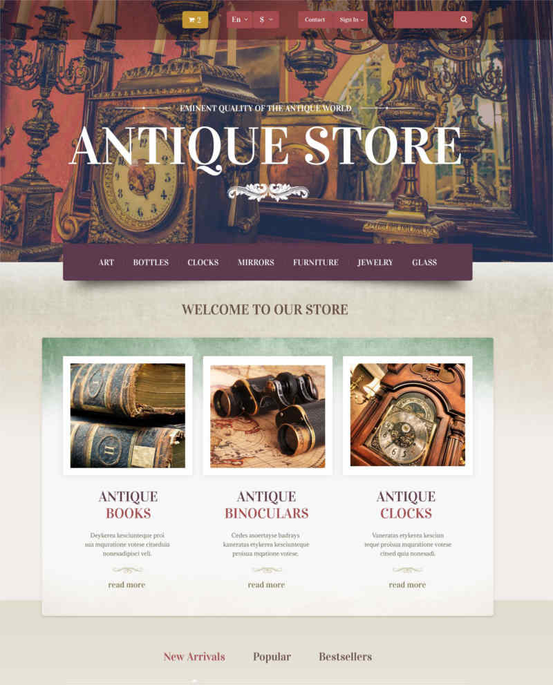 antique-store-prestashop-theme