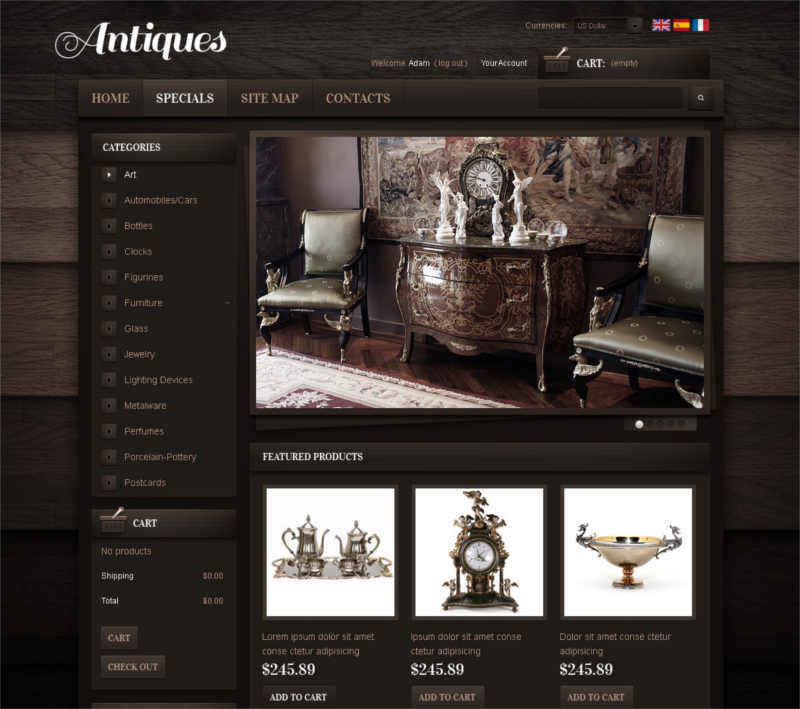 antiques-online-prestashop-theme