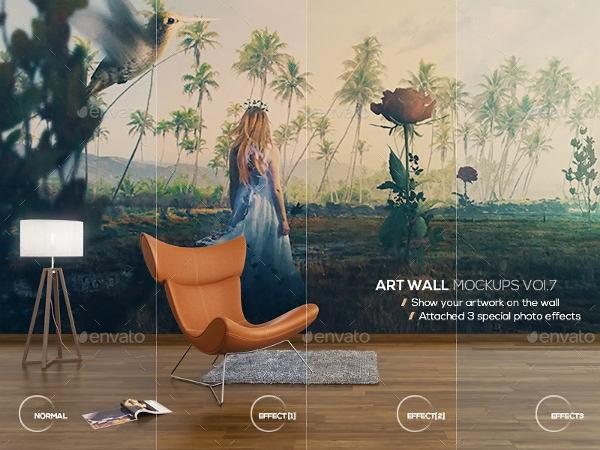 art-wall-mock-up