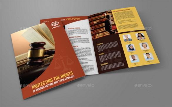 Legal Brochure Template