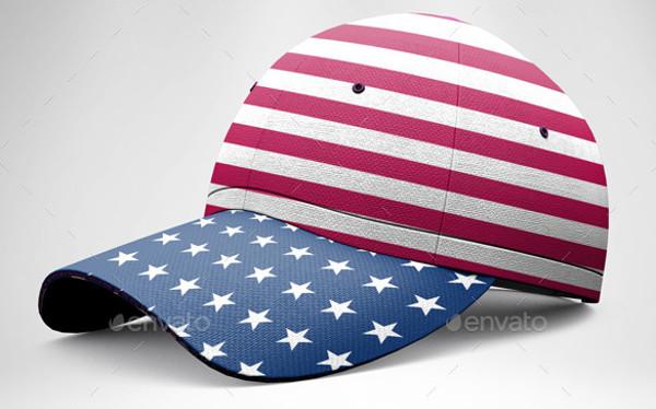 Realistic Baseball Hat MockUp 7 PSD Mockups