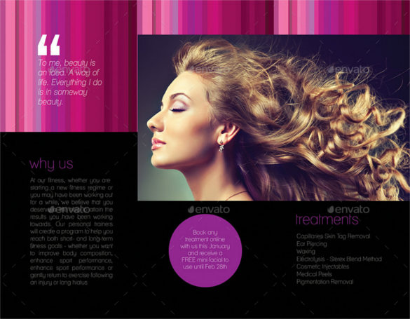 hair salon brochure templates - 25 salon brochure templates free premium templates