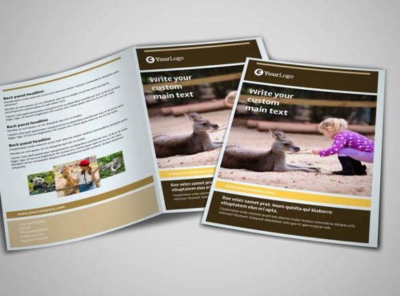bi-fold-zoo-brochure-template