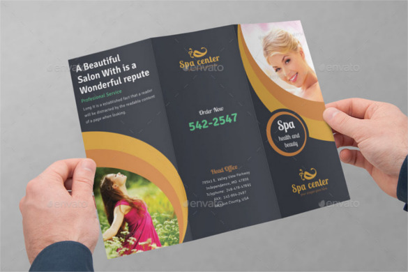 Salon Brochure Templates Free Premium Templates Creative - Salon brochure templates