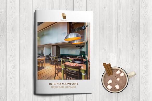 brown-furniture-brochure-templates