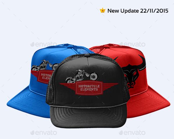 Bucket Cotton Hat Mockup Pack