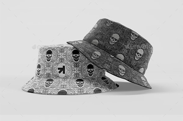 Bucket Hat Mockup Pack