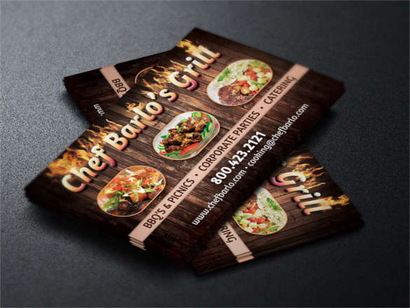 catering-business-card-template