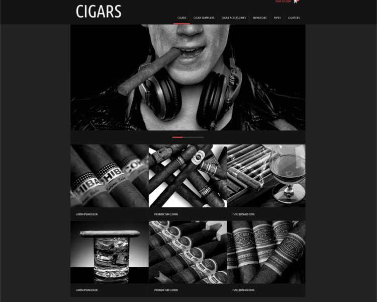 cigars-store-prestashop-them-template