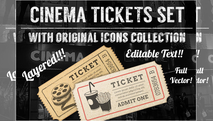 21 Free Movie Ticket Templates Creative Template – Ticket Design Templates Free Download