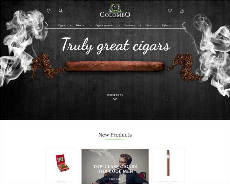 colombo-tobacco-prestashop-theme-template