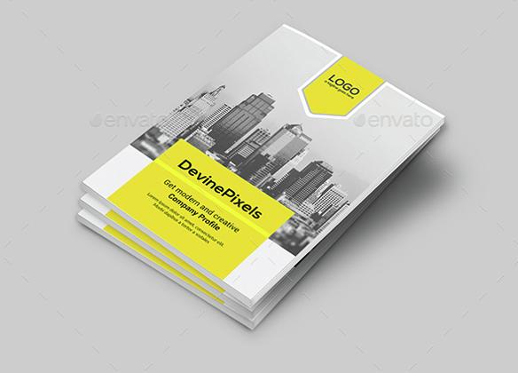 Modern Brochure Design Templates Free Premium Creative - Company profile brochure template