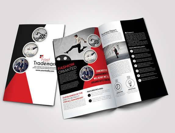 corporate-presentation-bi-fold-brochure-template