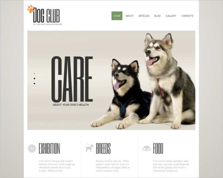 dog-club-joomla-template