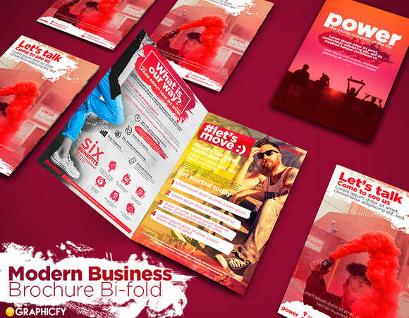 e-ecommerce-innovative-bi-fold-brochure-template
