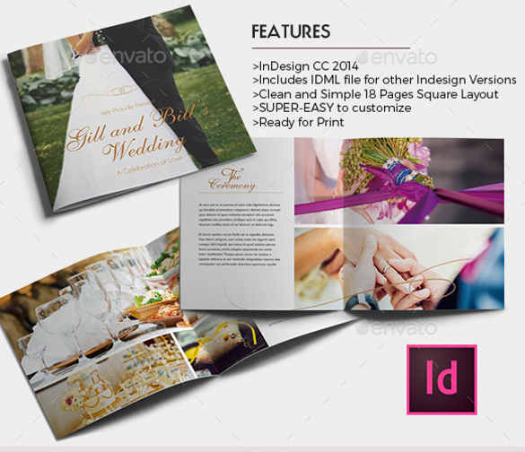 25+ Wedding Brochure Templates | Free & Premium | Creative Template