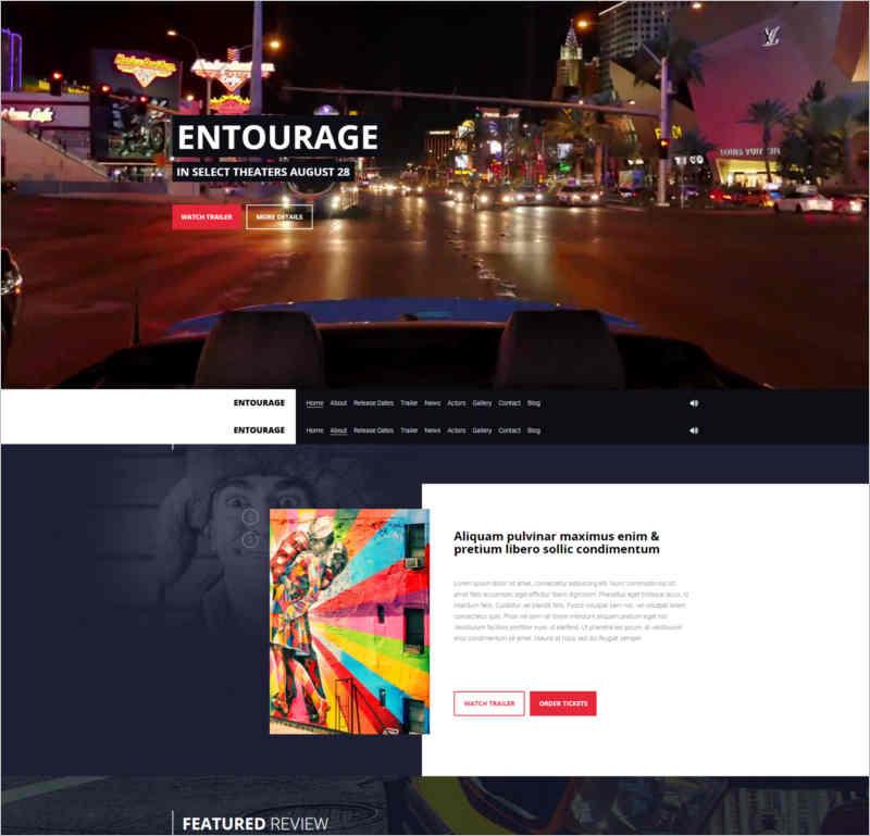 entourage-movie-film-cinema-tv-wordpress-theme