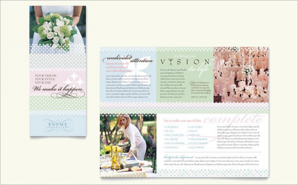 event-planning-brochure-template