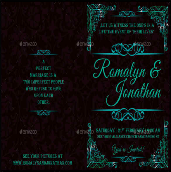 event-wedding-bifold-brochure