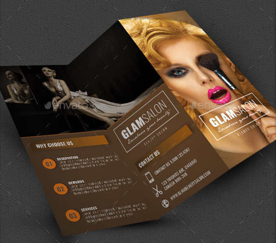 Salon Brochure Templates Free Premium Templates Creative - Hair salon brochure templates