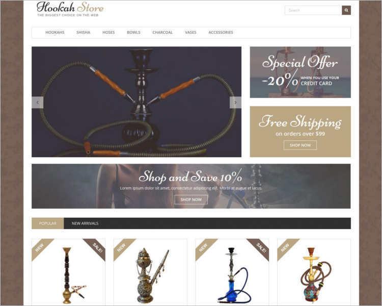 hookah-store-prestashop-them-template