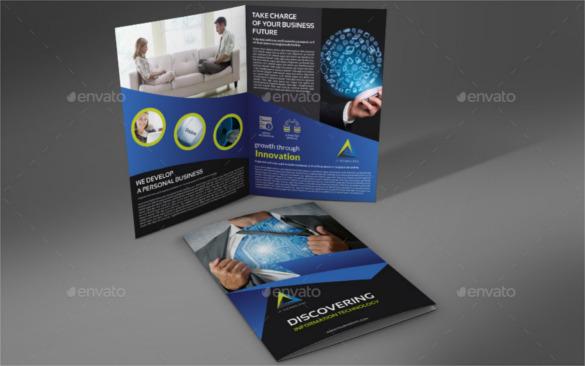 it-company-brochure-bi-fold-template