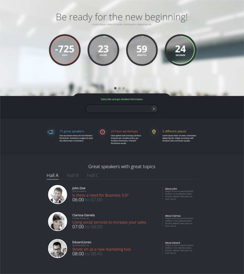infine-one-page-conference-event-drupal-theme