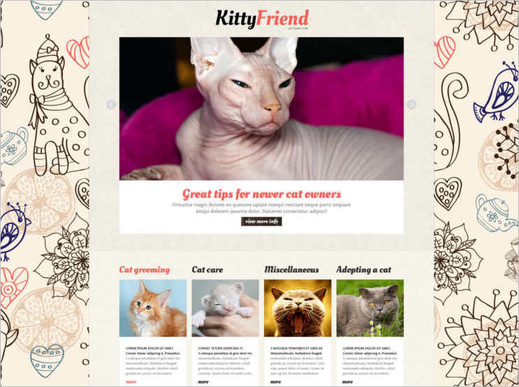 kitty-cat-joomla-template