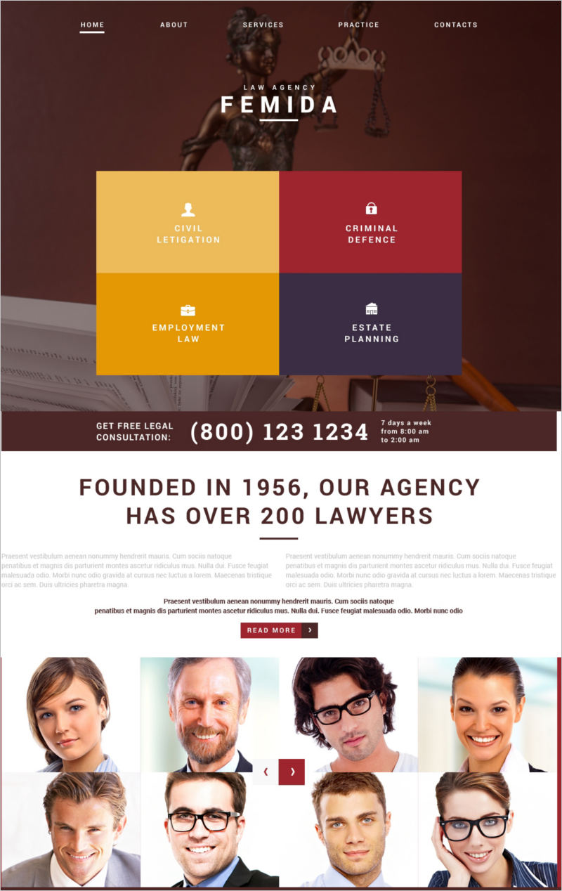 Law Adviser Joomla Template