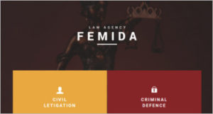 Law Agency Template