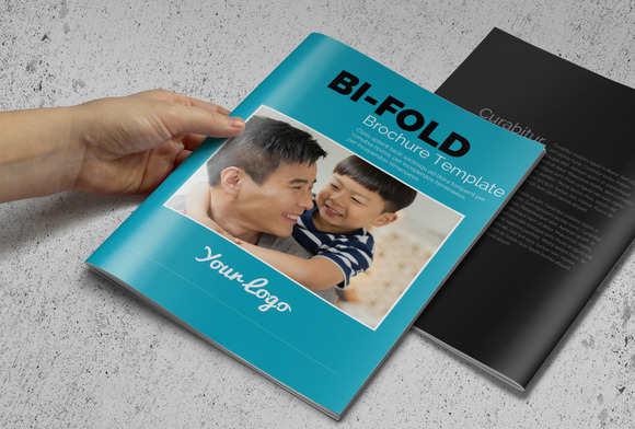 memorial-bi-fold-brochure-template
