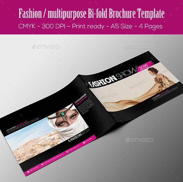 minimalistic-bi-fold-brochure-template