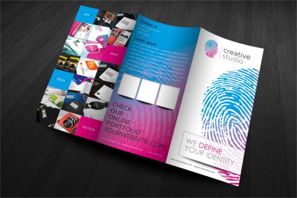 modern-finger-print-brochure-template