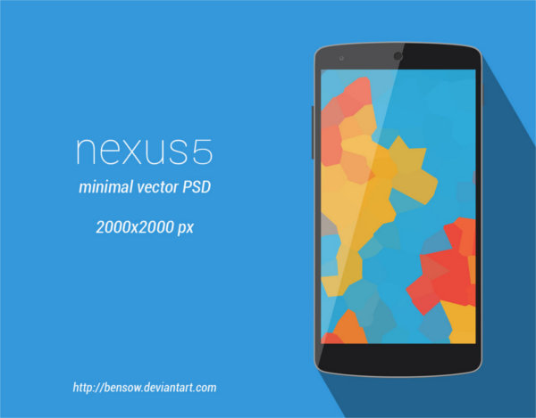 nexus-5-minimal-vector-mock-up